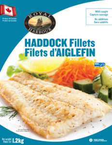 Haddock fillet skin-off